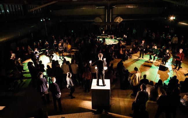 En af de helt store produktioner på sidste års festival var nyopsætningen af Henning Christiansens opera 'Opus 37: Dejligt vejr i dag, n'est-ce pas, Ibsen' på Copenhagen Contemporary. Foto: Malthe Folke Ivarsson